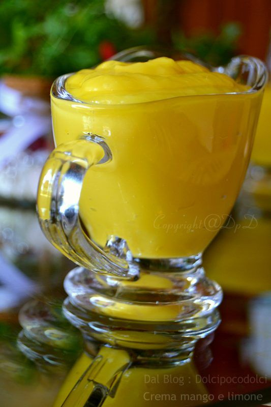 crema mango e limone