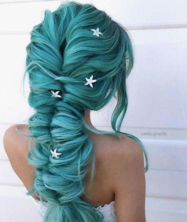 Brilliant Mermaid Braid Hairstyles Mermaid Hair Color Hair Styles Long Hair Styles