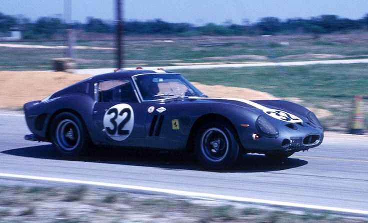 NART Ferrari 250 GTO of Charlie Hayes and Doug Thiem