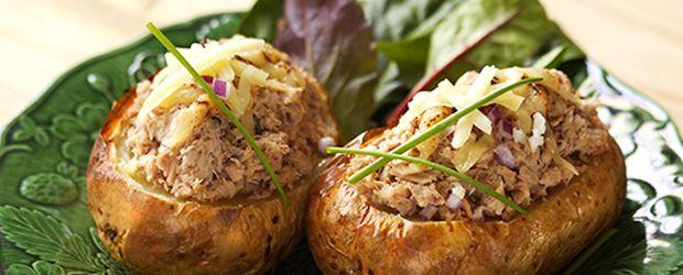 The Perfect Tuna Mayo Jacket Potato