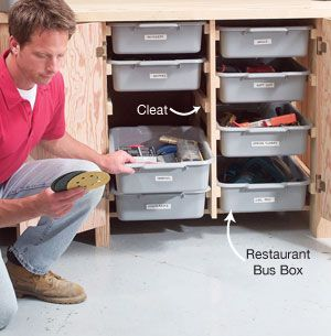Small Shop Tip: Instant Drawers - Popular Woodworking Magazine