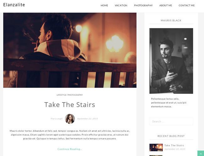 Free Fully Responsive WordPress Blog Theme