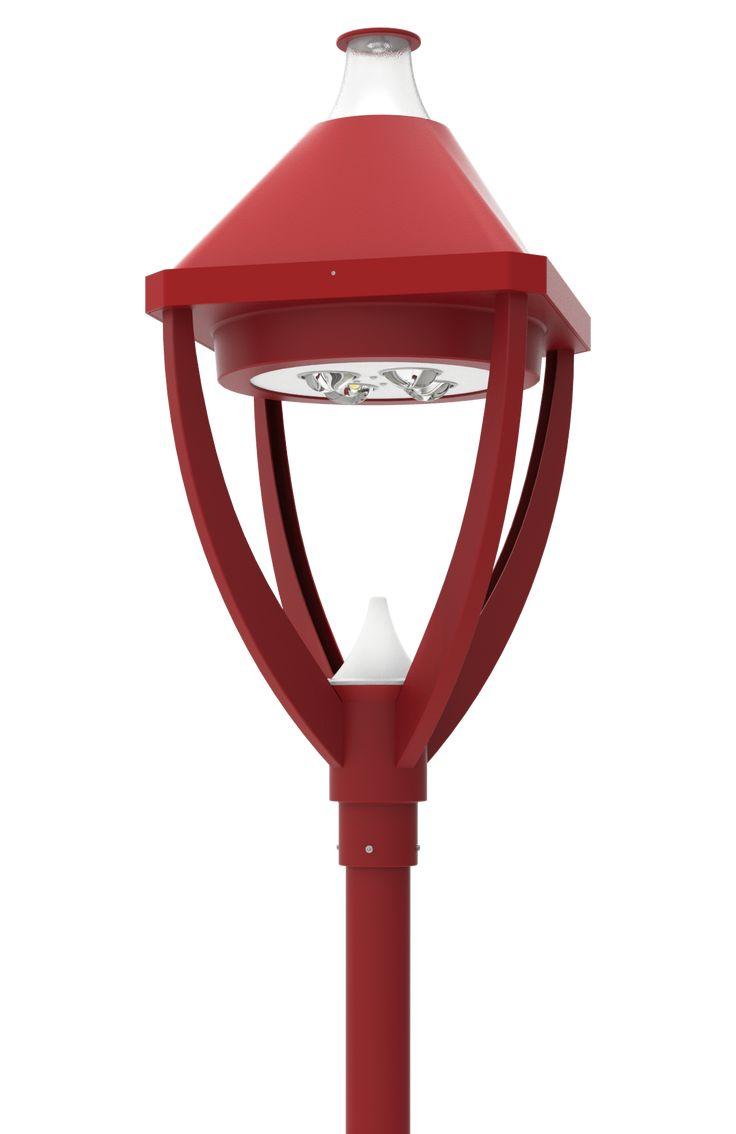LED Post Top Light Fixtures LED-PT-730 Series  DukeLight.com
