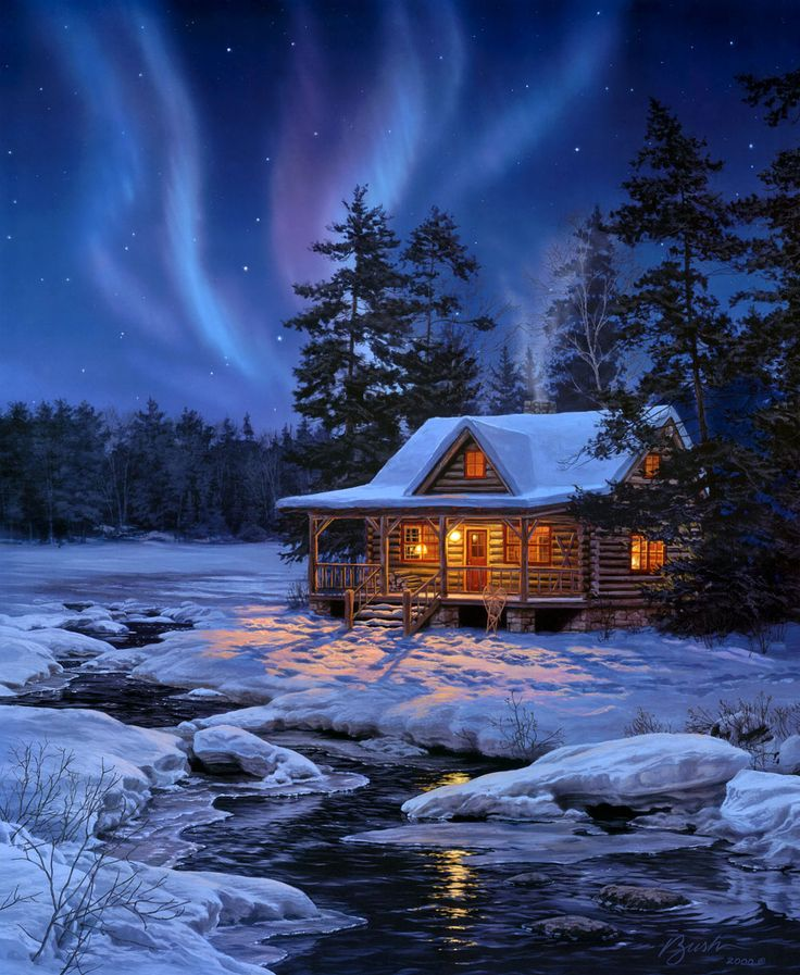 самом картинка сказочного зимнего домика вам нужна