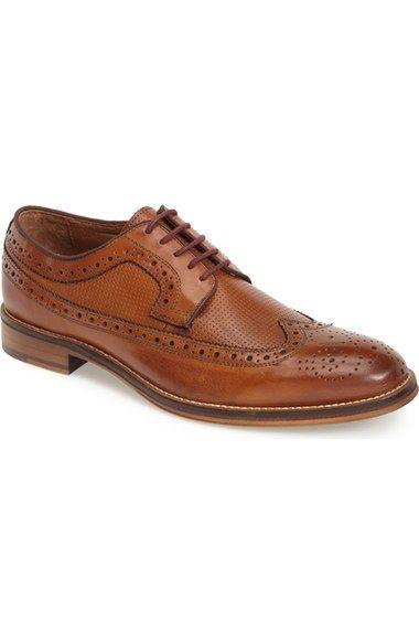 Johnston & Murphy 'Conard' Longwing Spectator Shoe (Men) available at #Nordstrom