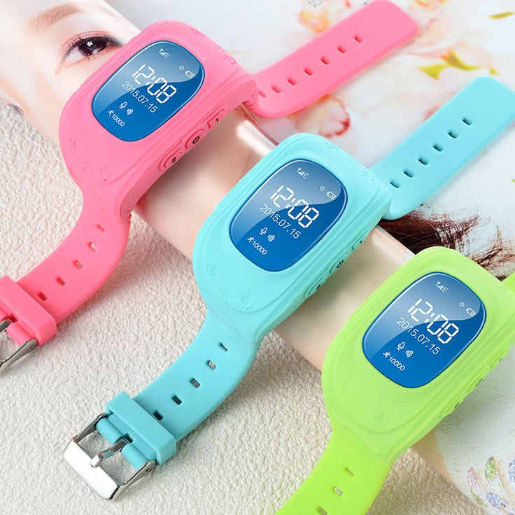 Anti-Lost Smart Watch GPS Tracker SOS Security Alarm Monitor for Kids Baby Pets
