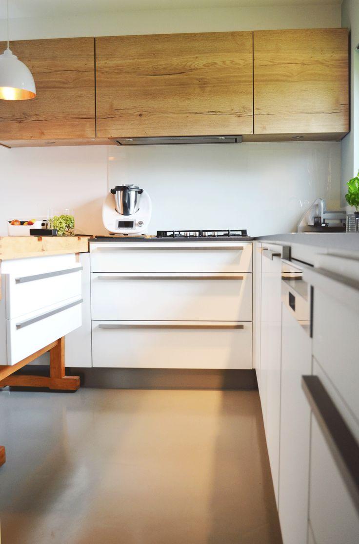 Kueche modern weiß griffe in 2020 | Moderne küche, Küche ...