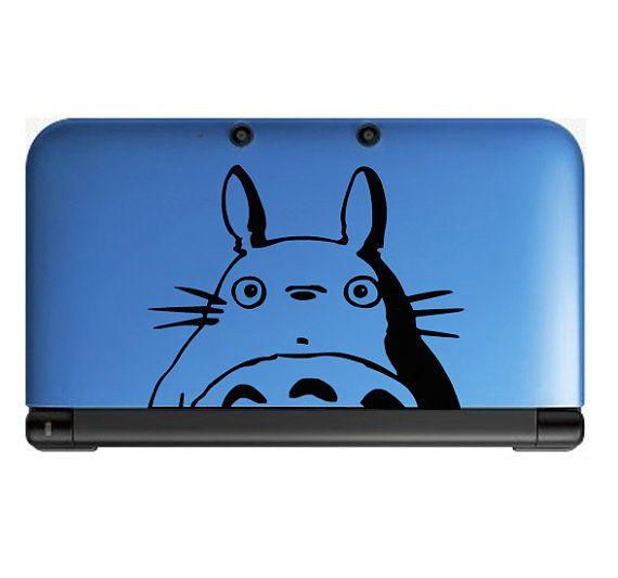 Totoro furtivement-Anime autocollant pour Nintendo par OtakuDecals
