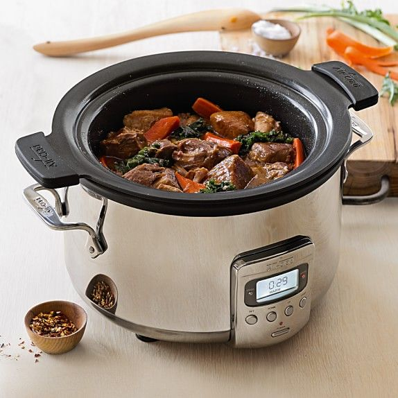 all-clad-deluxe-slow-cooker-with-cast-aluminum-insert-4-qt-c  foodtrients.com has a giveaway going on for this slow cooker, entry period ends 1-26-16 I believe.  Go check it out, this is really a nice slow cooker.