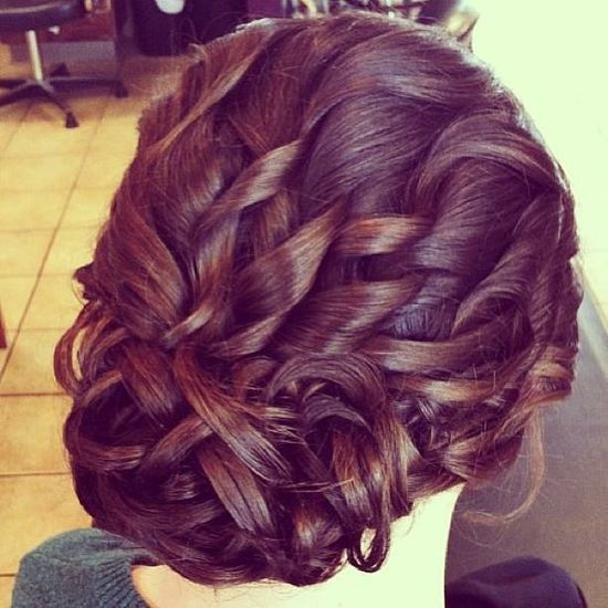 17 Best Images About Homecoming/ Prom Hairstyles On