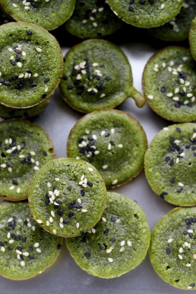 Green Tea Financiers - Joanne Eats Well With Others