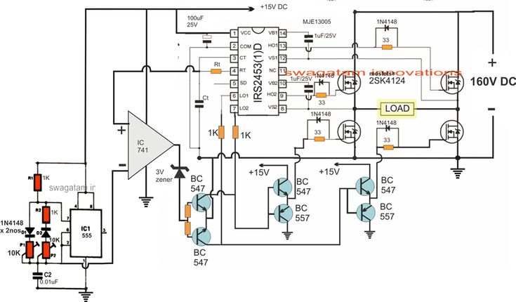 3kva transformerless inverter circuit projects to try circuit3kva transformerless inverter circuit projects to try circuit projects, electronic schematics, circuit