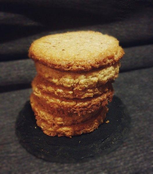 Кокосовое печенье с арахисовой пастой