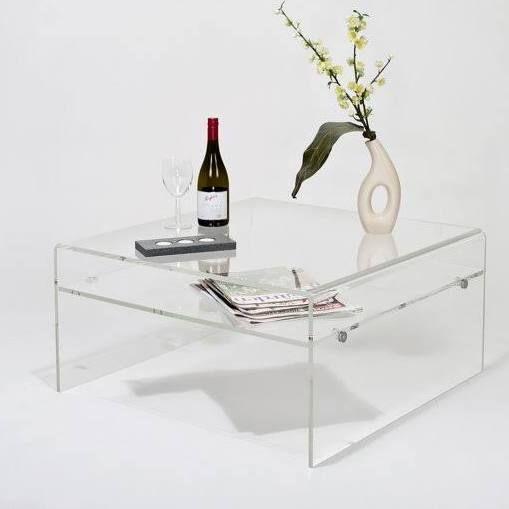 perspex coffee table uk