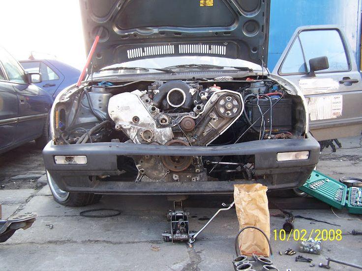 Golf 2 V8 32V =Audi A8 4.2 V8