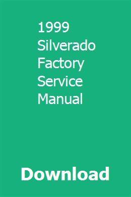 download 1999 silverado factory service manual pdf 1999 silverado rh pinterest com 1999 chevy silverado service manual pdf 1999 chevrolet silverado service manual
