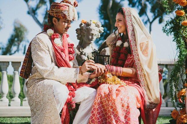 Malibu California Outdoor Indian Wedding by Ian Grant Photography