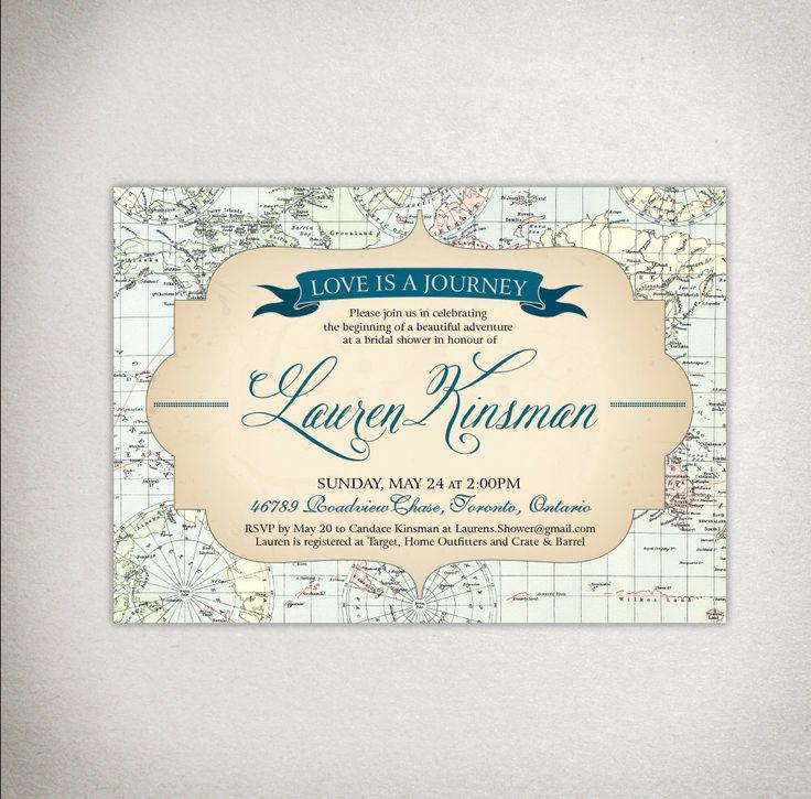 INVITATION Bridal Shower / Wedding / Baby Shower Printable