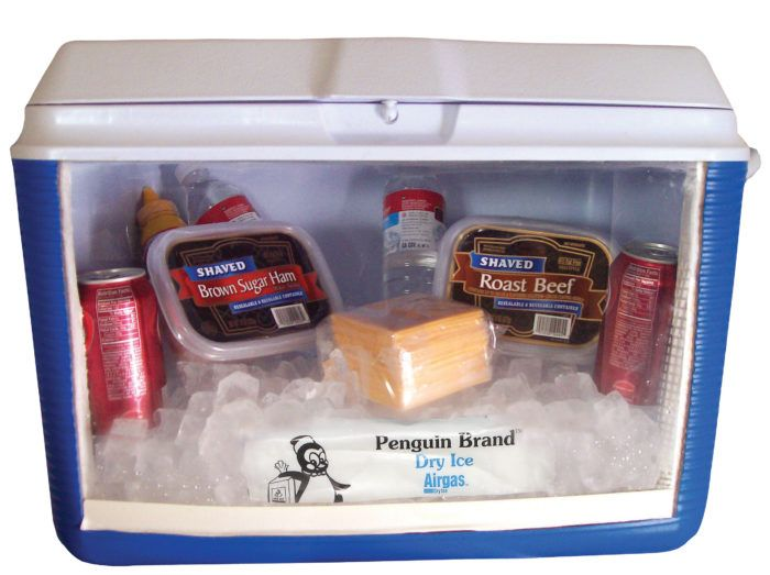Packing Coolers With Dry Ice Airgas Dry Ice Best Camping Meals Camping Coolers