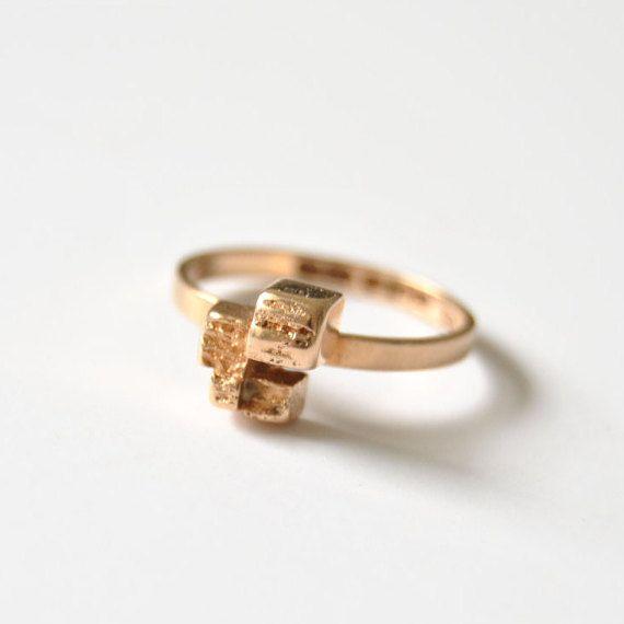 6.5 Björn Weckström Gold Ring Amore by Lapponia by ModernSquirrel