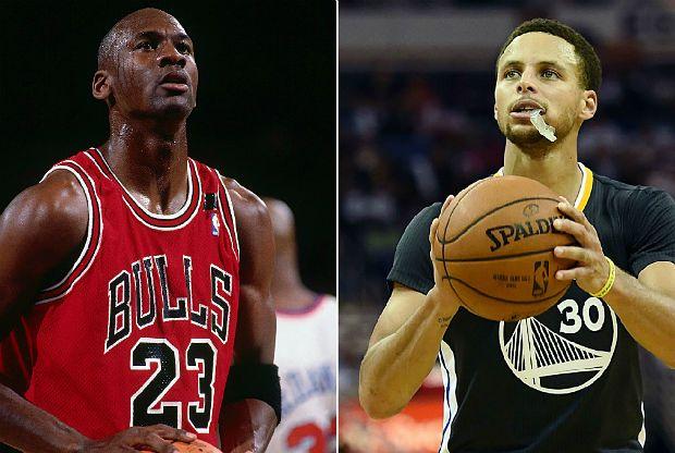 Stephen Curry, se acerca al mejor inicio de Michael Jordan