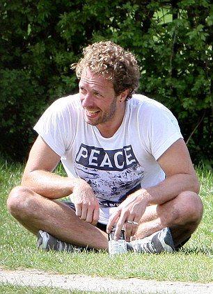 Chris! & the PEACE shirt strikes again ;)