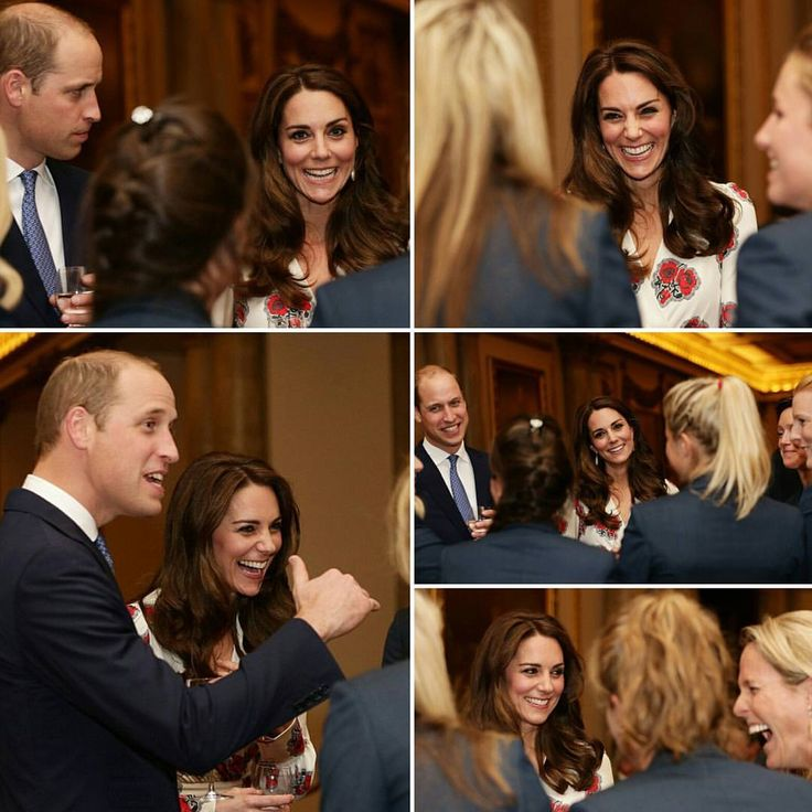 The Duke & Duchess of Cambridge and Prince Harry are meeting #Rio2016 @TeamGB & @ParalympicsGB at the #GBHeroesLDN reception.
