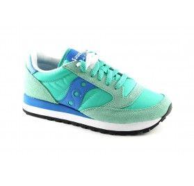 SAUCONY S1044-363 JAZZ ORIGINAL blu green scarpe donna sneakers
