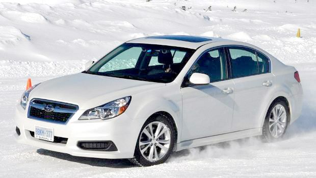 Subaru Legacy Goes Circles Around Snow Competitors | Richmond Hill Subaru Dealership