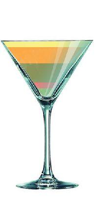 Photo Cocktail ARC EN CIEL FIZZ