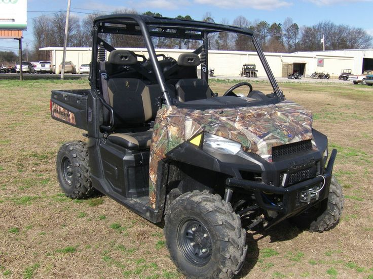 2013 Polaris® Ranger® XP 900 Polaris® Pursuit® Camo Stock: P07186   Greenville Motor Sports
