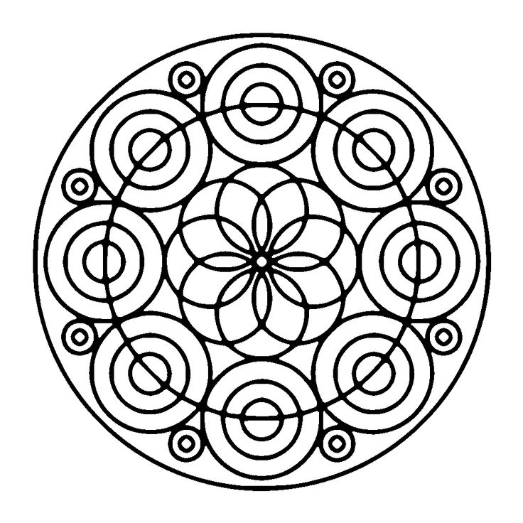 In these pages, we offer you Easy Mandala coloring pages for kids, or even for…