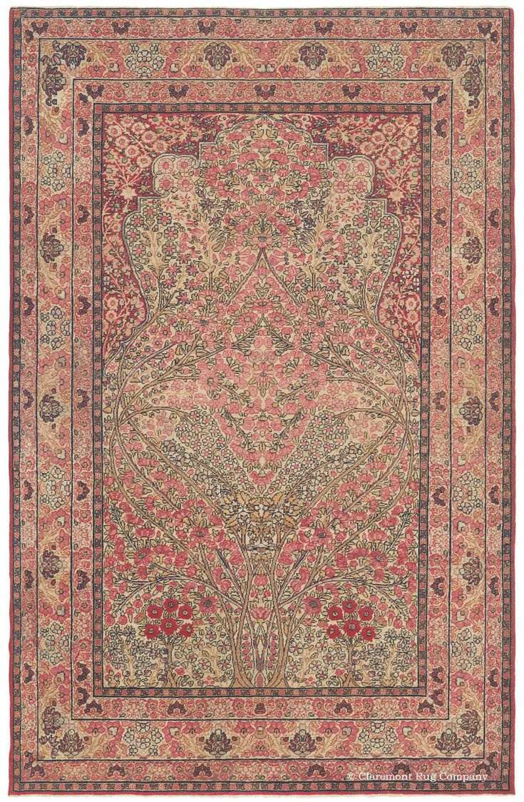 16 Best Antique Rugs With A Tree Of Life Theme Images On