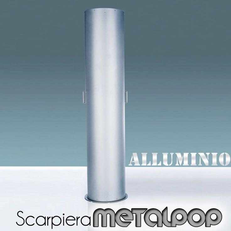 Scarpiera In Metallo ALLUMINO 40x40xh173 cm MetalPop 10 Ripiani estraibili peso 17 kg | Emporium | Stilcasa.Net: como e cassettiere