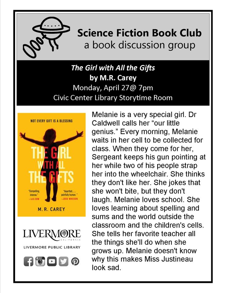 """Science Fiction Book Club 