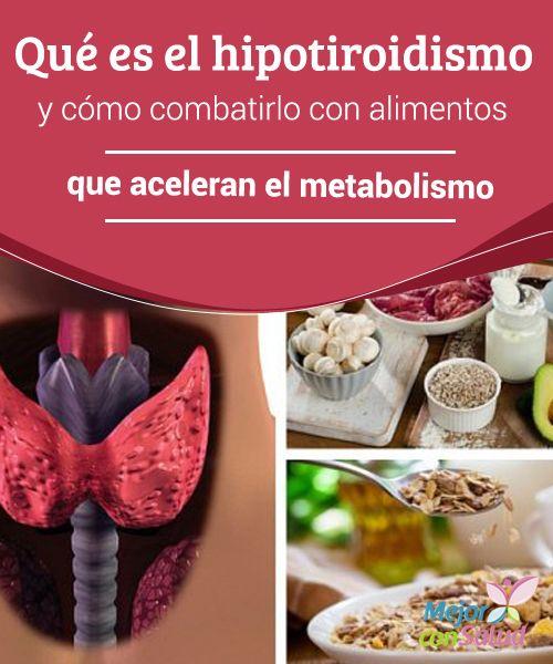 Qué es el hipotiroidismo y cómo combatirlo con alimentos que aceleran el metabolismo El hipotiroidismo es un trastorno que se produce cuando la glándula tiroidea se debilita y disminuye la segregación de hormonas.