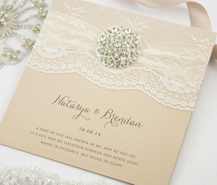 'Hepburn' invitations by The Boutique Paper Co.  www.theboutiquepaperco.com.au