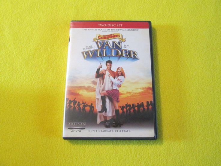 National Lampoon's Van Wilder dvd two-disc set Ryan Renolds and Tara Reid