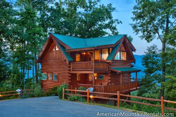 Simply Breathtaking #36 is a 1 bedroom, 3 bathroom cabin in Brothers Cove that sleeps 6 offered by American Mountain Rentals in the Smoky Mountains