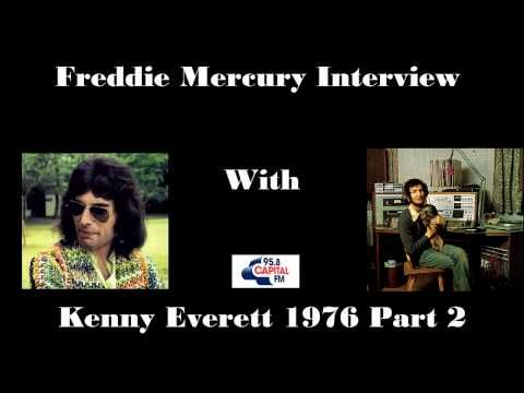 Freddie Mercury Interview with Kenny Everett 1976 Part 2 - YouTube
