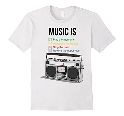 Amazon.com: what music is thsirt: Clothing
