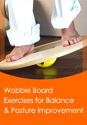 Wobble board #exercises aren't overly difficult to do. The ones which we bring to you are pretty basic and you won't have to strain yourself too much.