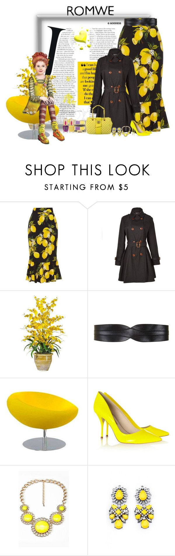 """rosangela"" by jwrosangelasilva ❤ liked on Polyvore featuring Dolce&Gabbana, Relaxfeel, Nearly Natural, BCBGMAXAZRIA, Tisettanta, Sophia Webster, Moschino and Pupa"