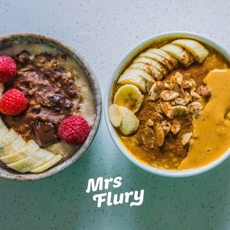 Gesunder Brei – 3 köstliche Variationen vegan Mrs Flury Recipe Healthy Breakfast   – Gesunde Rezepte Mrs Flury Blog – meine Lieblingsrezepte