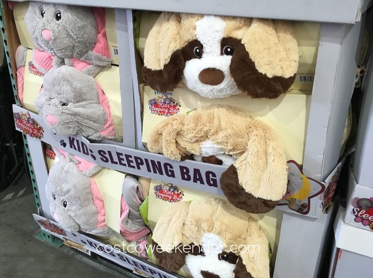 Costco 1017403 hugfun slumber bag animal sleeping bag