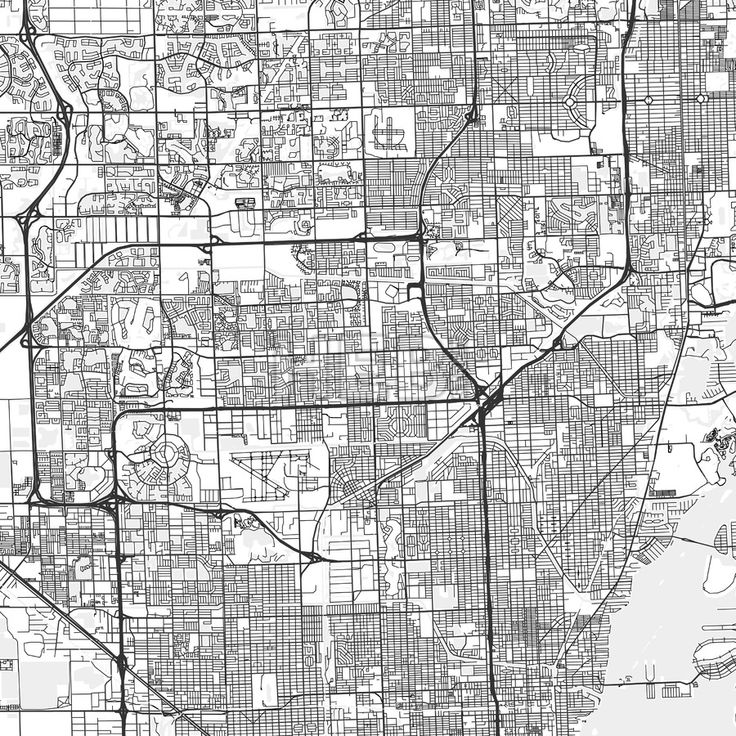 Best 25 detailed map of florida ideas on pinterest map of miami miami gardens downtown and surroundings map in light shaded version with many details for high zoom publicscrutiny Choice Image