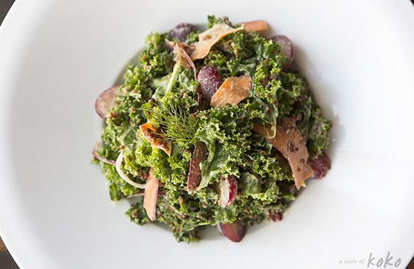 My #1 Kale Salad is Pac Man at counter culture.   Get tips on where to find Austin's best kale salads, and browse other Austin food and drink articles by local bloggers and writers