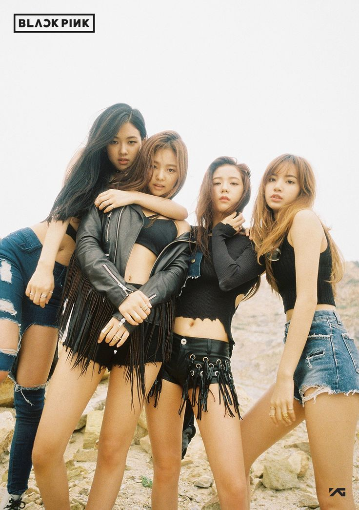 BLACKPINK! They just debuted & they are already slaying it! <3 There are 4 members: Lisa, Jisoo, Rose, & Jennie. Lisa is my bias. <3 <3 Latest releases are Whistle & BOMBAYAH