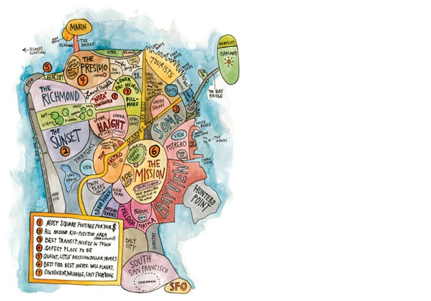 SF neighborhoods (by wendy macnaughton)