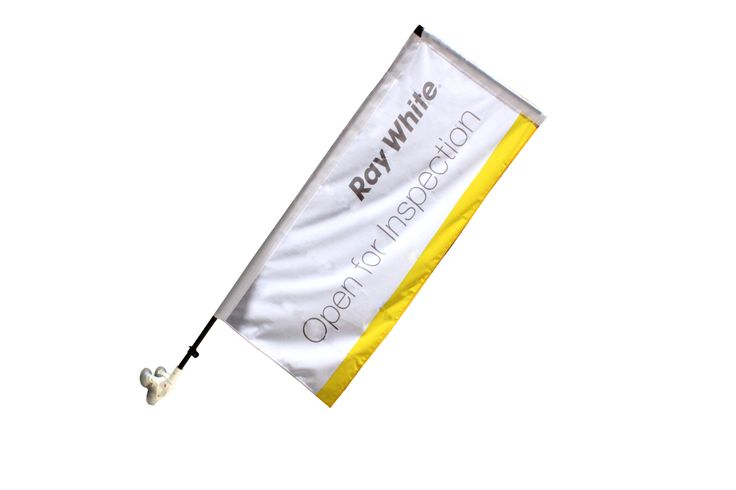 Window Banners are perfect if you have limited space or no sidewalk access. Quickly install onto glass windows or doors with the strong suction cup and adjust the angle as required.